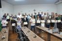 Defensores da natureza recebem o Mérito do Meio Ambiente 'Vereador Amador Abdalla'
