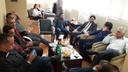 Adriano Baldy é recebido pela comissão de Desenvolvimento Econômico, presidida por Teles Júnior