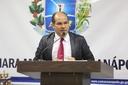 Domingos Paula defende ações do prefeito na área da segurança pública