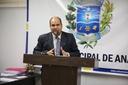 Domingos Paula repercute discurso do governador em visita a Anápolis