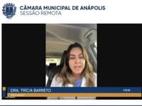 """Dra. Trícia Barreto pede atenção para pobreza menstrual, """"é uma questão de saúde pública"""""""