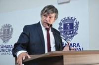 Edmilson Mercado Serve Bem indica ao prefeito construção de pista de caminhada no Vivian Parque