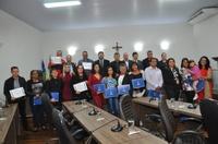 """Câmara lança campanha """"Junho Vermelho"""" e doadores de sangue são homenageados"""