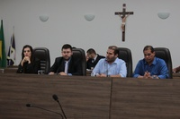 Em visita à Câmara, deputado Lucas Vergílio reafirma compromisso de destinar emendas para Anápolis
