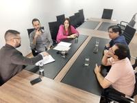 Fiscais sanitários pedem apoio a vereadores por isonomia com outras categorias semelhantes