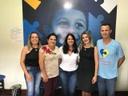 Professora Geli Sanches visita Clínica Escola do Autista em Itaboraí, Rio de Janeiro
