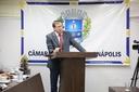Gomide cobra debate na Câmara Municipal sobre aumento da TSU