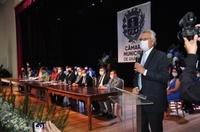 Governador Ronaldo Caiado elogia vereadores por atitudes de aglutinação e consenso
