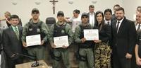Grupo de Radiopatrulha Aérea da Polícia Militar é homenageado durante sessão ordinária