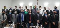 Hélio Lopes apresenta aos vereadores as primeiras ações à frente do Ipasgo