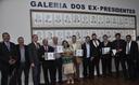 Inaugurada Galeria dos Ex-Presidentes da Câmara Municipal de Anápolis