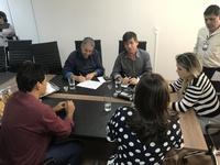 Integrantes da Comissão de Saúde se reúnem e encaminham dois projetos para de Finanças