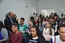 Jakson Charles traz alunos do Colégio Padre Fernando para acompanhar sessão da Câmara