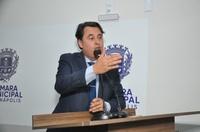 Jean Carlos diz que mesmo com a falta de água, consumidores receberam conta mais alta