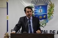 Jean Carlos promete fiscalizar ações da concessionária de limpeza pública