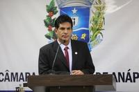 João da Luz cobra reconstrução do Colégio Estadual Salvador Santos
