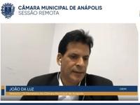 João da Luz explica projeto que autoriza motoristas de aplicativos e delivery estacionarem em vagas especiais
