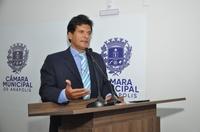 João da Luz representa Câmara em evento com presença de secretário estadual de Desenvolvimento Social