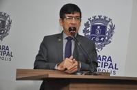 Lélio Alvarenga espera que propostas da secretária Estadual de Saúde sejam cumpridas