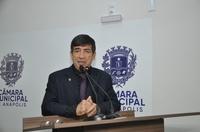 Lélio reforça convite para audiência pública que vai debater futuro da Unidade Oncológica de Anápolis