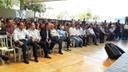 Luzimar Silva e Pastor Elias representaram a Câmara no lançamento do Programa Goiás na Frente Social
