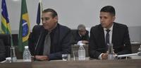 Mauro é eleito primeiro secretário; Wederson assume a segunda secretaria