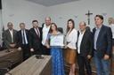 Médica Trícia Barreto é homenageada com título de cidadania anapolina