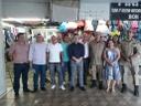 Membros da Comissão de Desenvolvimento Econômico participam de reunião no Camelódromo