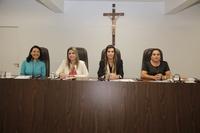 No Dia Internacional da Mulher, sessão da Câmara é conduzida por vereadoras e tem diversos discursos de homenagens