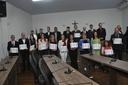 Odontólogos são homenageados em solenidade proposta pelo presidente Amilton Filho