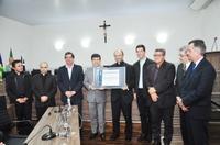 Padre Françoá, o mais novo cidadão anapolino