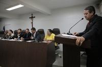 Pastor Elias apresenta Moção de Pesar pela morte do pastor Valdivino Alves