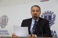 Pastor Elias cobra do governador transformação do Colégio Onofre Quinan em unidade militar