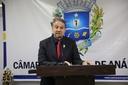 Pastor Elias denuncia grande mortandade de peixes no Ribeirão das Antas