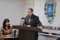 Pastor Elias elogia nomeação de empresário de Anápolis para a SED