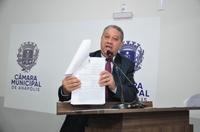 Pastor Elias faz Moção de Apelo para que governo não acabe com Passe Livre Estudantil