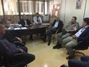 Pastor Elias faz reunião para discutir estratégias de segurança no dia do vestibular da Univangélica