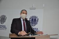 Pastor Elias Ferreira pede substituição de iluminação na Região Leste por lâmpadas de LED