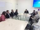 Pastor Elias Ferreira debate vagas em UTI com secretários municipal e estadual de Saúde