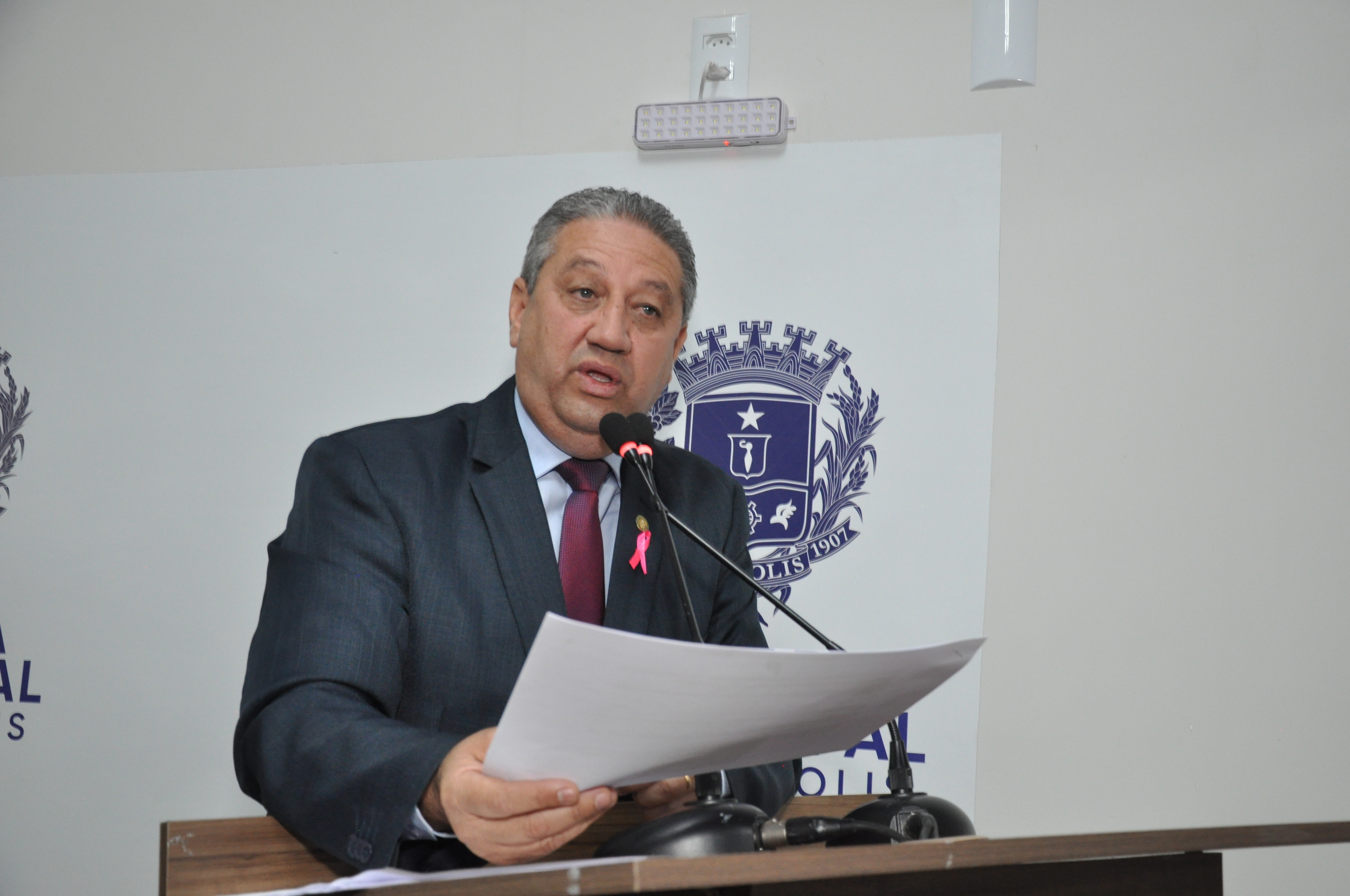 Pastor Elias Ferreira é autor de Moção de Repúdio à Enel por apagões em Anápolis