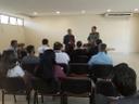 Pastor Elias Ferreira realiza reunião com empresários do DAIA sobre segurança no local