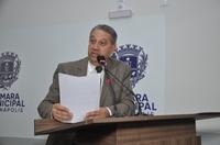 Pastor Elias Ferreira vai ao prefeito de Silvânia debater solução para os residenciais Daiana I e II