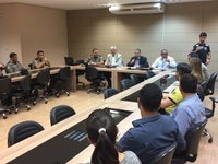 Pastor Elias participa de reunião sobre segurança em vestibular da UniEvangélica