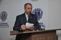 Pastor Elias pede criação da Frente Parlamentar Mista em Defesa das Comunidades Terapêuticas e Conselho Antidrogas