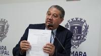 Pastor Elias pede estudo para melhorias no tráfego do viaduto Miguel Moreira Braga