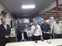 Pastor Elias se reúne com permissionários e autoridades no Mercado Municipal