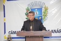 Pedro Mariano diz que em breve serão colocadas lâmpadas de LED na região do Paraíso