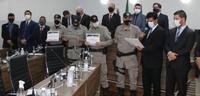 Policiais militares do Copom são homenageados pela Câmara