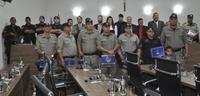 Policiais militares recebem moções de aplauso por atos de bravura