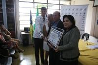 Por iniciativa da vereadora Professora Geli, Câmara entrega Título de Cidadão Benemérito ao tenente-coronel Elisboa Moreira Belo
